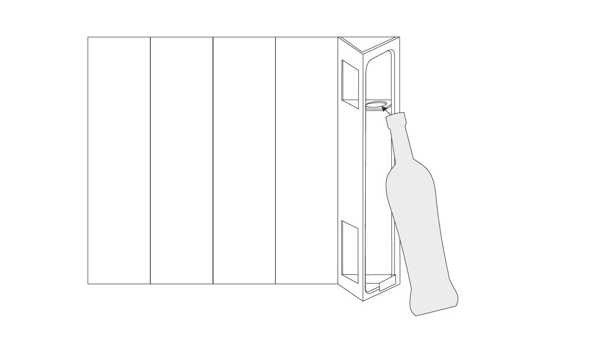 B-Joy Flaschenverpackung,