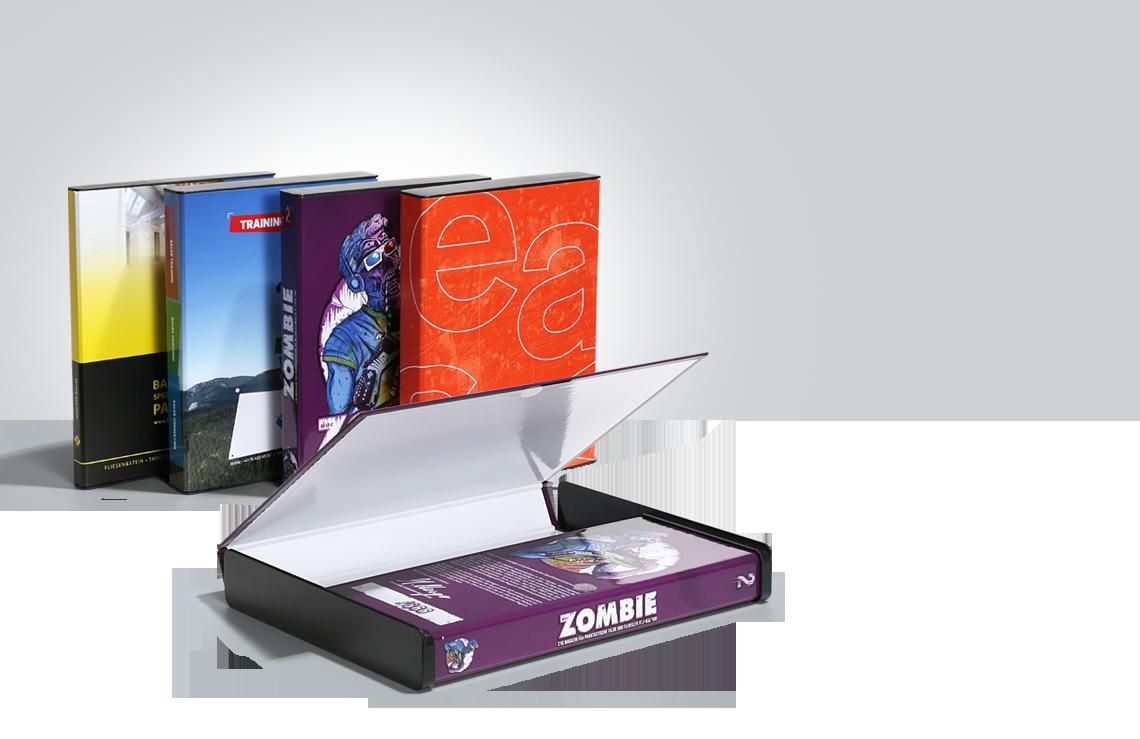 Kappenbox, Verpackung Magazine, Prospektverpackung, Magazinbox, Heftbox, online drucken, easyordner