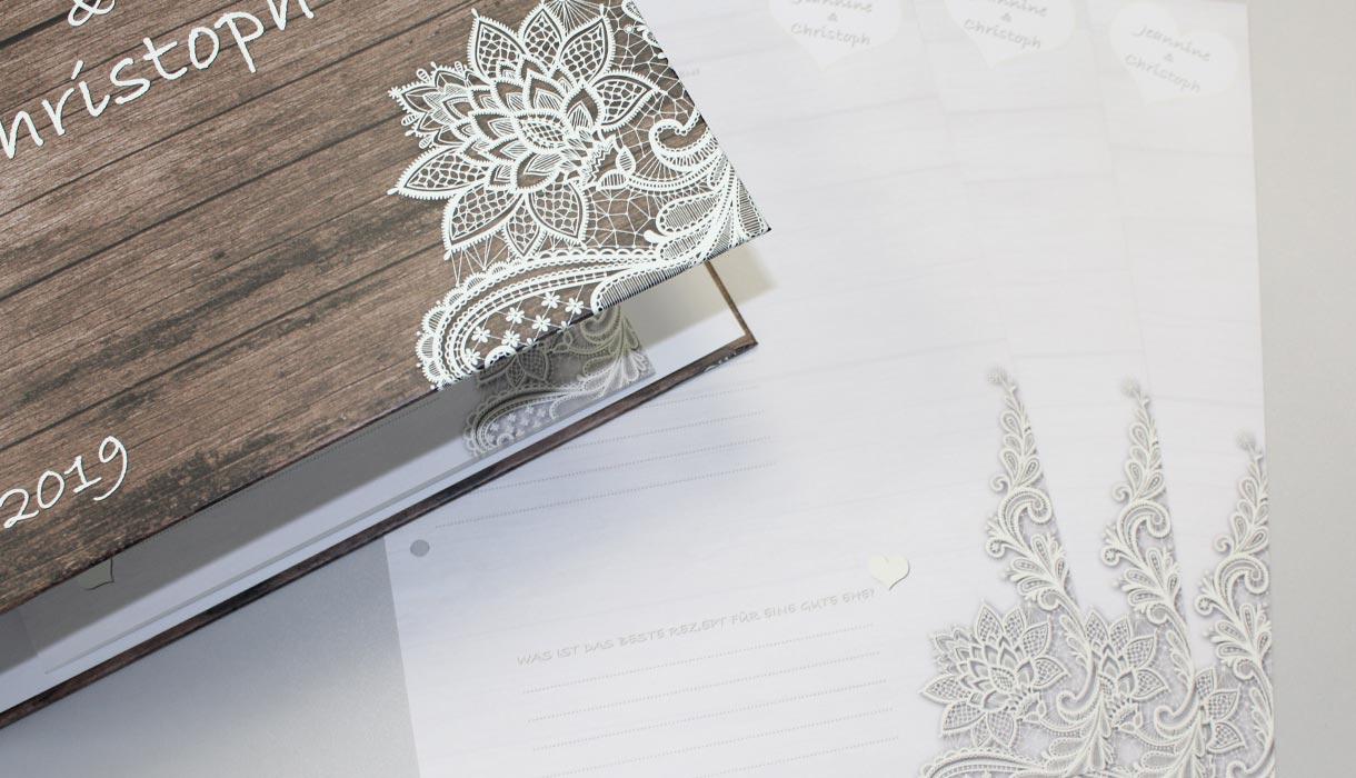 Loseblattsammlung, einzelne Blätter drucken, Hochzeitsbuch, Lose Blätter, Loseblatt, easyordner