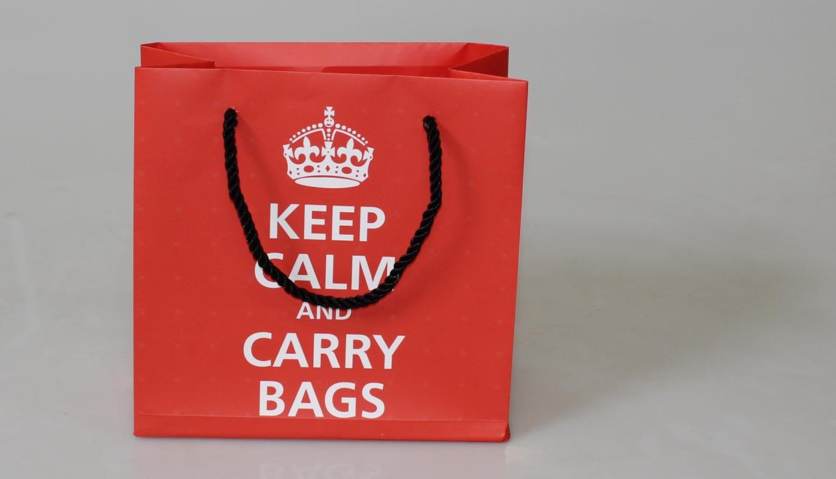 kleine Tasche, Papiertragetasche, Tasche individuell, online gestalten