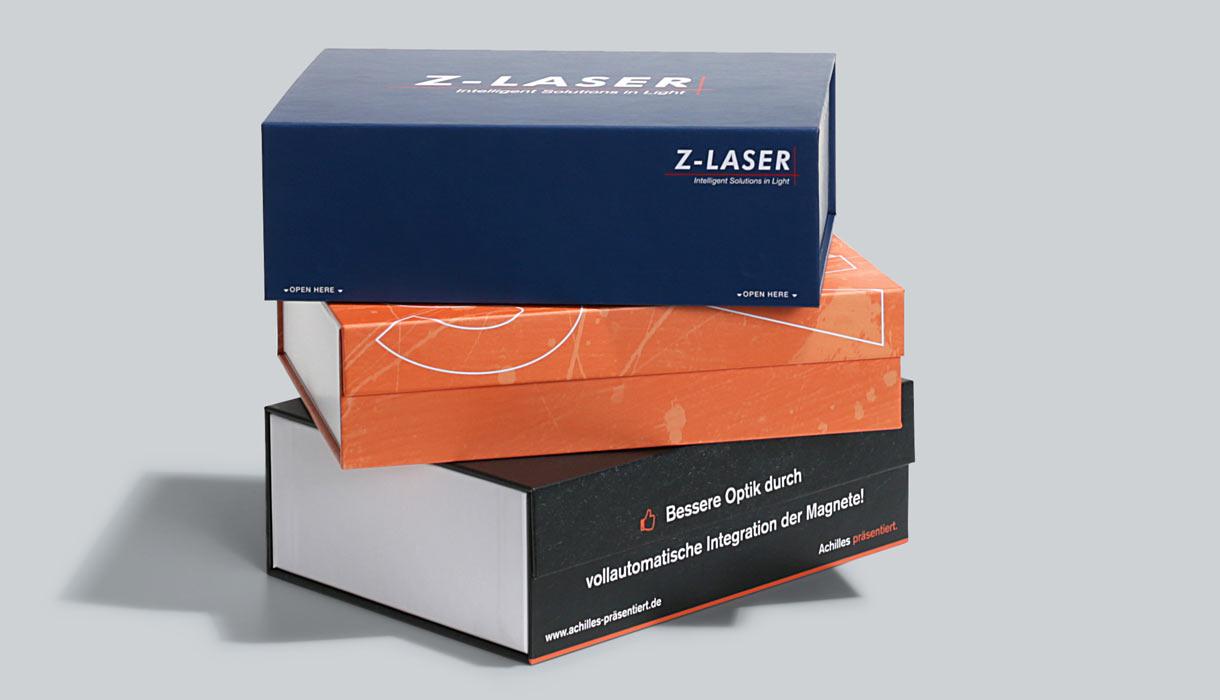 Mangetbox, hochwertige Verpackung, Verpackung Magnetverschluss, scharfe Kanten, online drucken, easyordner