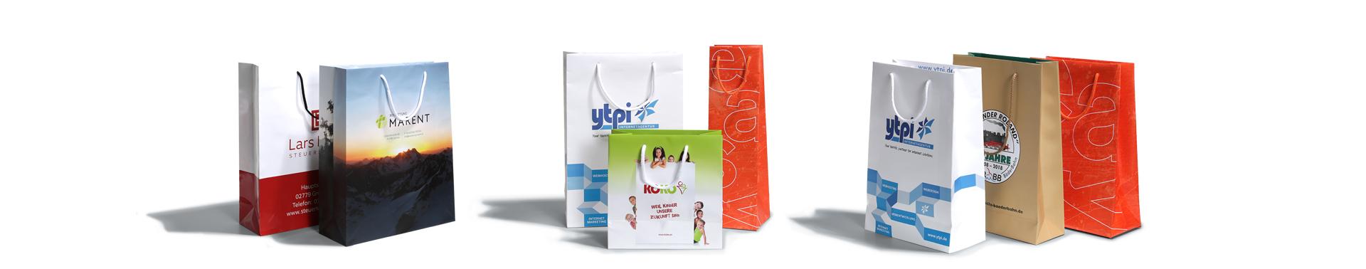 Papiertaschen, Tragetaschen, Taschen mit Motiv, individuelle Taschen, online drucken, easyordner.de, easyordner