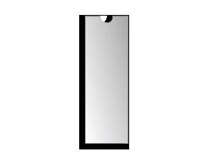 Rückenschildtasche 4 x 19 cm (117792)