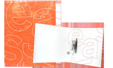 DIN A4 Hebelordner 30 mm Füllhöhe ohne Radoösen DIN A4 | Hebelmechanik | 30 mm (300 Blatt) | Nein | Digitaldruck 4/0 | Glanz  | Nein | Nein | Nein | Nein | Nein | Nein | Basis-Datencheck